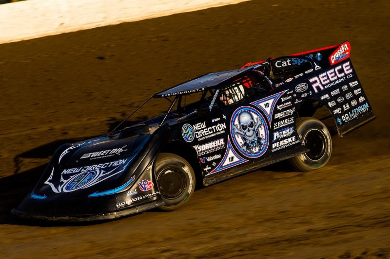 Bloomquist Earns Silver Dollar Nationals Pole
