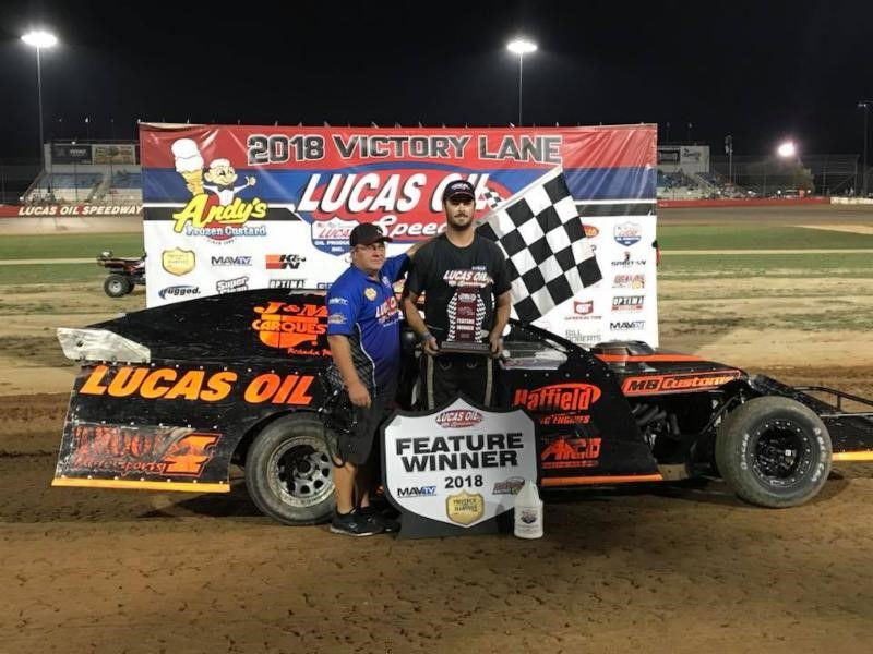 Sheets wins USRA Modified thriller as Woods, Cornell and Jackson also prevail at Lucas Oil Speedway