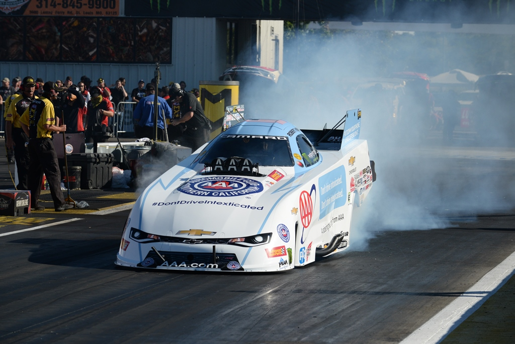 Gateway Sells Out At Gateway For Saturday's NHRA Qualifying