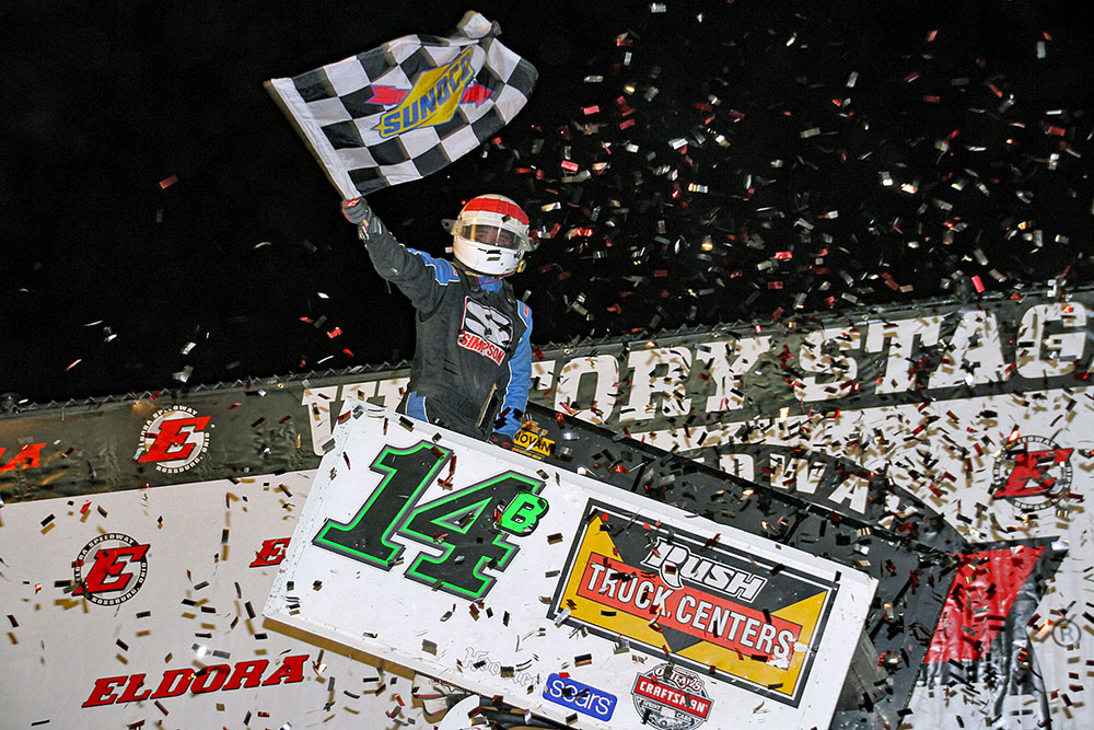 Christopher Bells Dominates Eldora Speedway for Fourth Career Outlaw Win