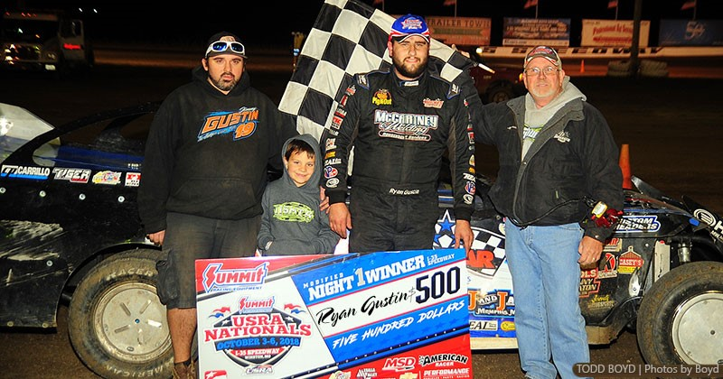 Gustin, Heeter, Jackson, Gulbrandson open Summit USRA Nationals in victory lane