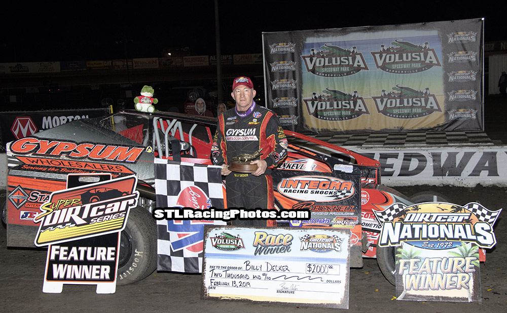 Billy Decker Christens Return to Gypsum Racing with a Win, Edges Out Teammate Larry Wight