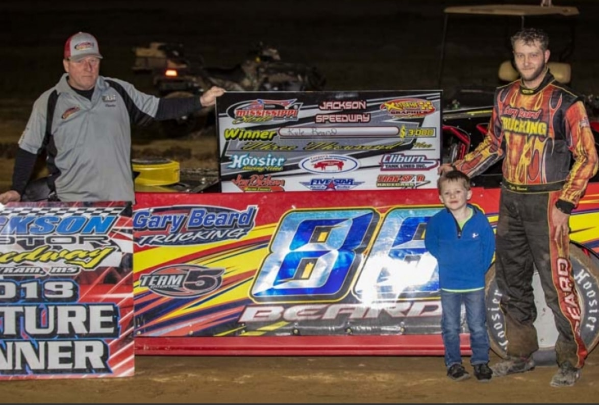 Kyle Beard Conquers MSCCS Super Late Model Opener at Jackson