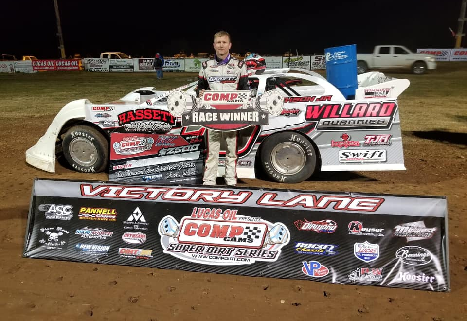 Tony Jackson Jr. Claims COMP Cams Super Dirt Series Opener