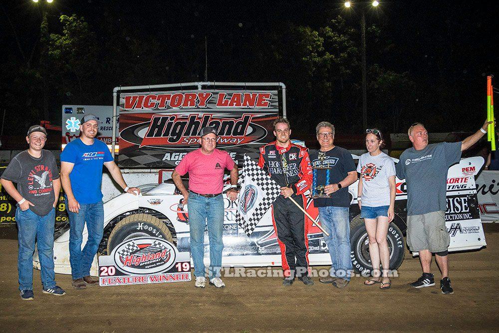 Highland Speedway Results - 5/25/19