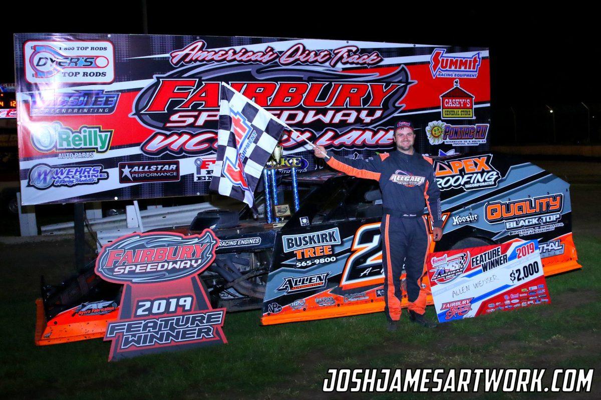Fairbury Speedway Results - 5/25/19