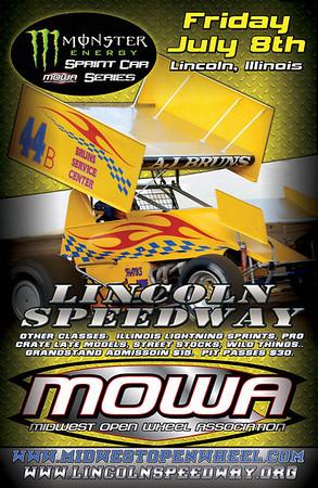 Lincoln Monster Energy Sprint Series