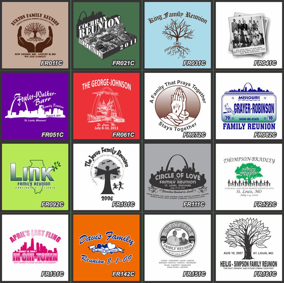 Family Reunion T Shirts Custom Shirts Fast Shipping