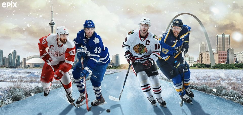 Image result for nhl outdoor classics epix