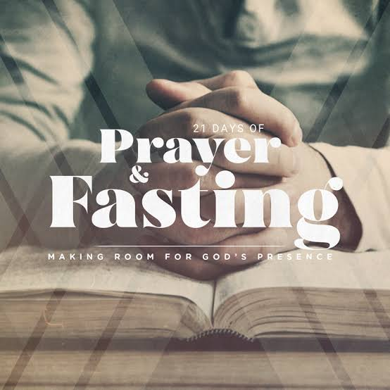 "TOPIC: ""PRAYER AND FASTING: The Essential Christian Discipline"""