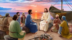 Topic: Jesus Revealed Himself to His Disciples at the sea of Tiberia.