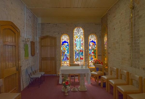 Side Chapel at St Luke's Enmore