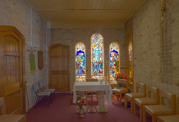 Side Chapel at St Luke's Enmore