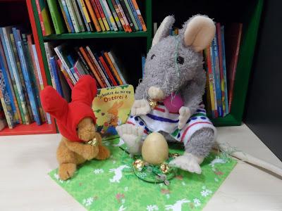 Die Bibliothek St. Marien wünscht frohe Ostern!