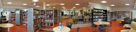 Die Bibliothek 2017 - Panorama hinten