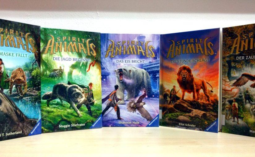Neu im Regal – Fantasy Serie Spirit Animals