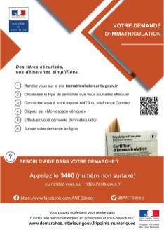 Affiche Immatriculation