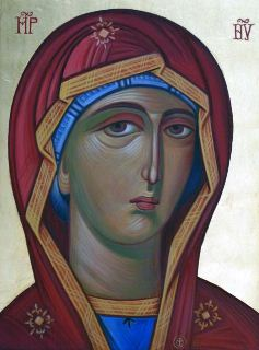 Icon of St. Mary