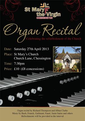 St Mary's Organ Recital