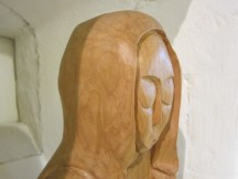 Image of wooden statue