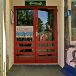 Front door of St Mary's childcare centre