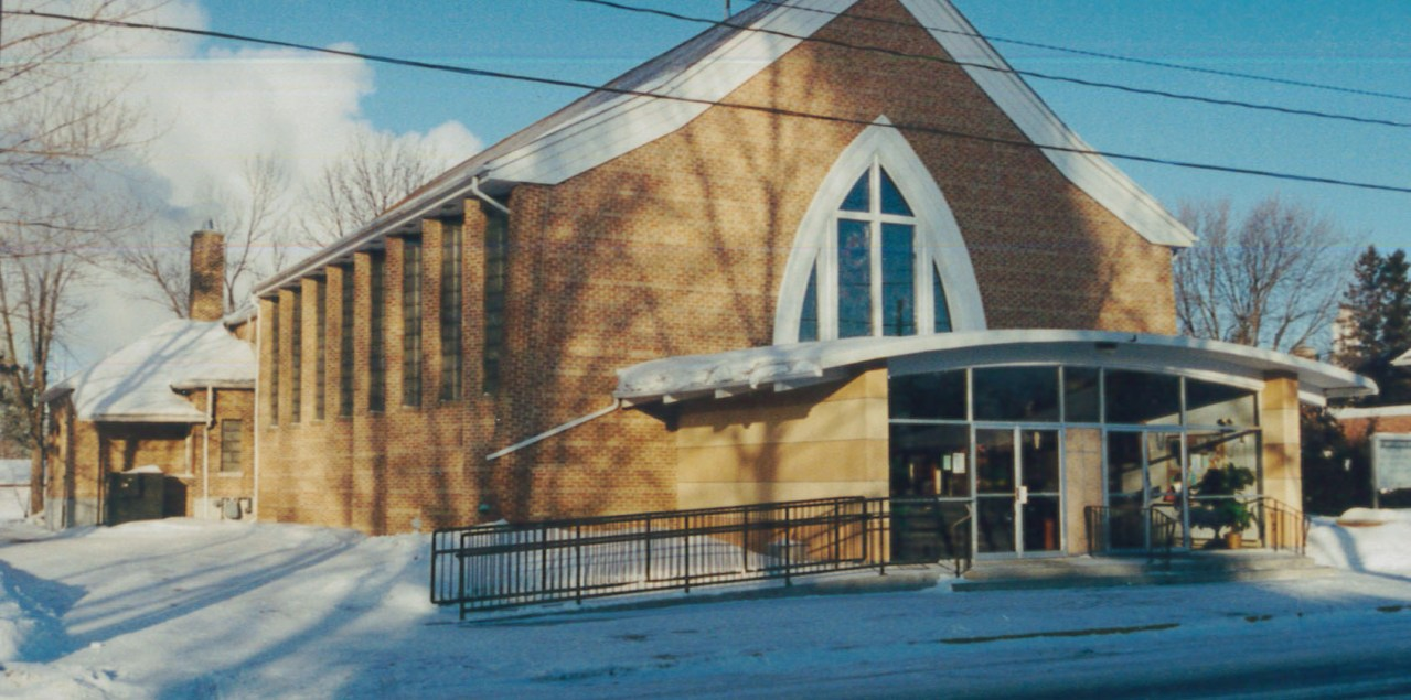 Exterior with New Narthex