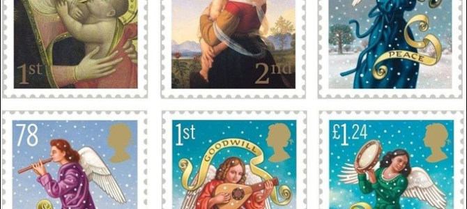 Religious Christmas Stamps
