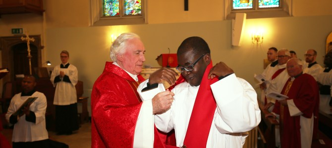 Ordination to the Diaconate of Dominic Nwaigwe