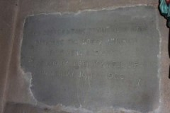 Cornerstone from St Mary's, Charing Cross