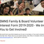 Family Volunteer Interest Survey