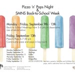 Pizza and Popsicle Night