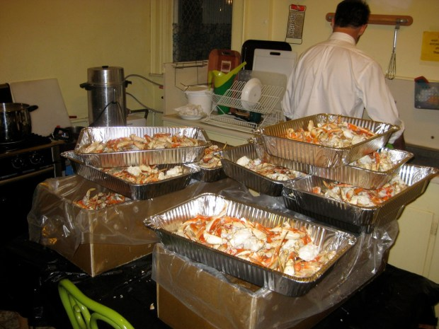 9th Annual Crab Feed, January 26th @ .St. Matthew's Lutheran Church