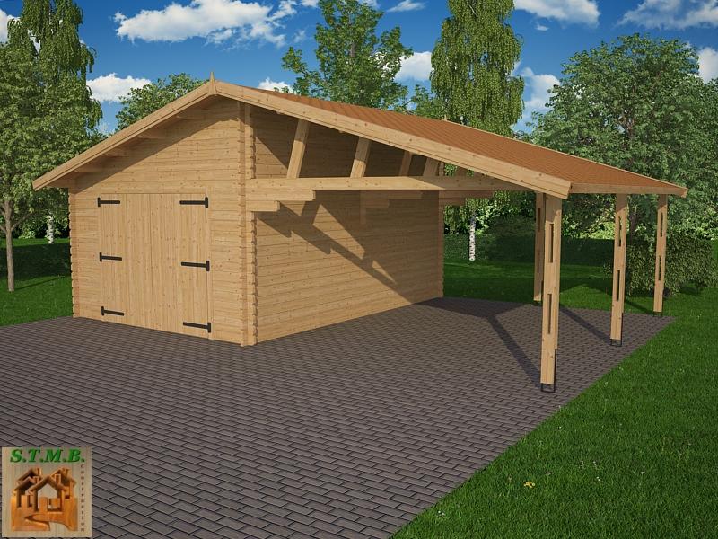 garage carport bois stmb construction chalets bois com