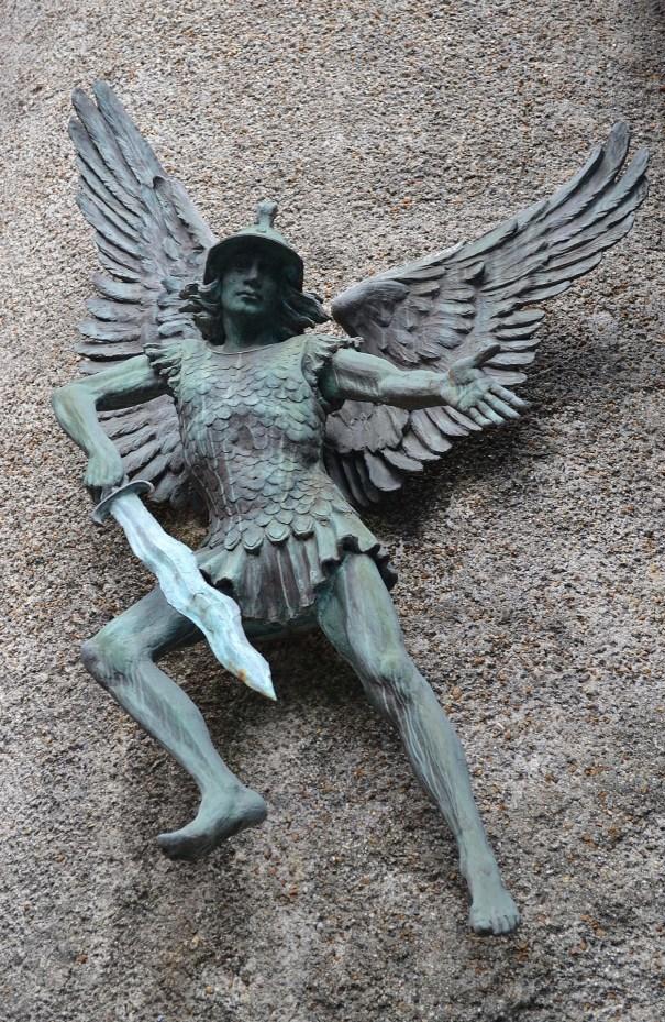 Statue of St Michael
