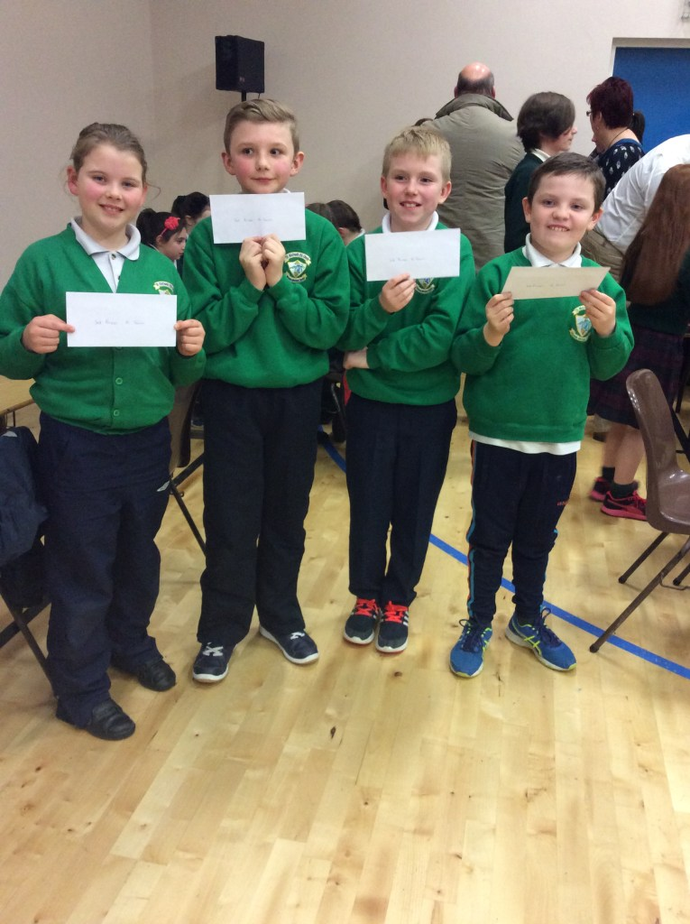 Pupils who achieved 3rd place in the U11 Category