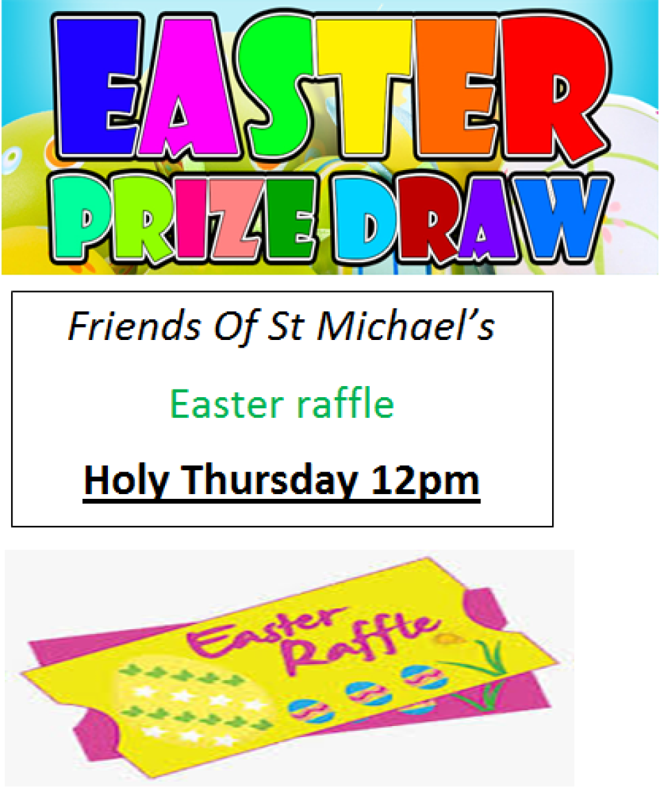 Easter Raffle 2016 Poster