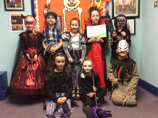 2016/17, (P1-P7): Halloween Dressup & Party