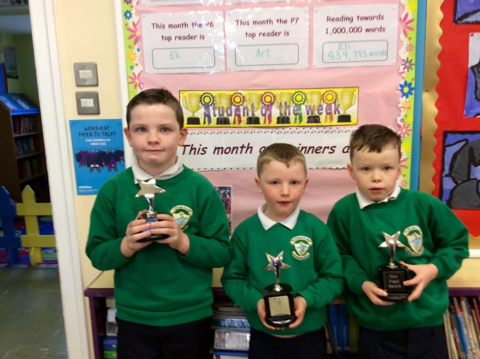 Star Award Pupils, 13th March 2017