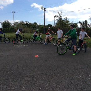 2016/17, Cycling Proficiency Training