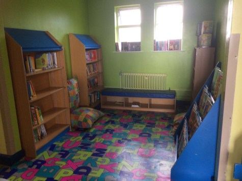 2017/18, Library Re-vamped