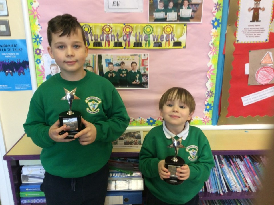 2017/18, Star Pupil Awards, 19th February
