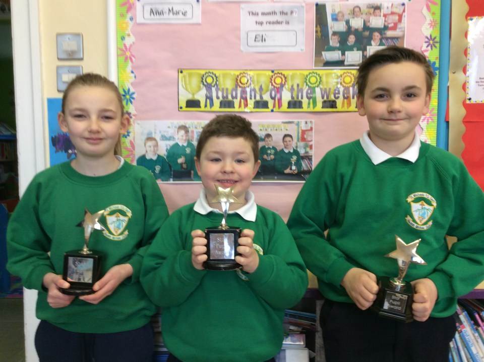 2017/18, Star Pupil Awards