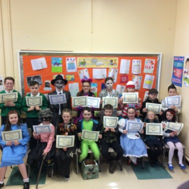 2017/18, Accelerated Reading Awards on World Book Day