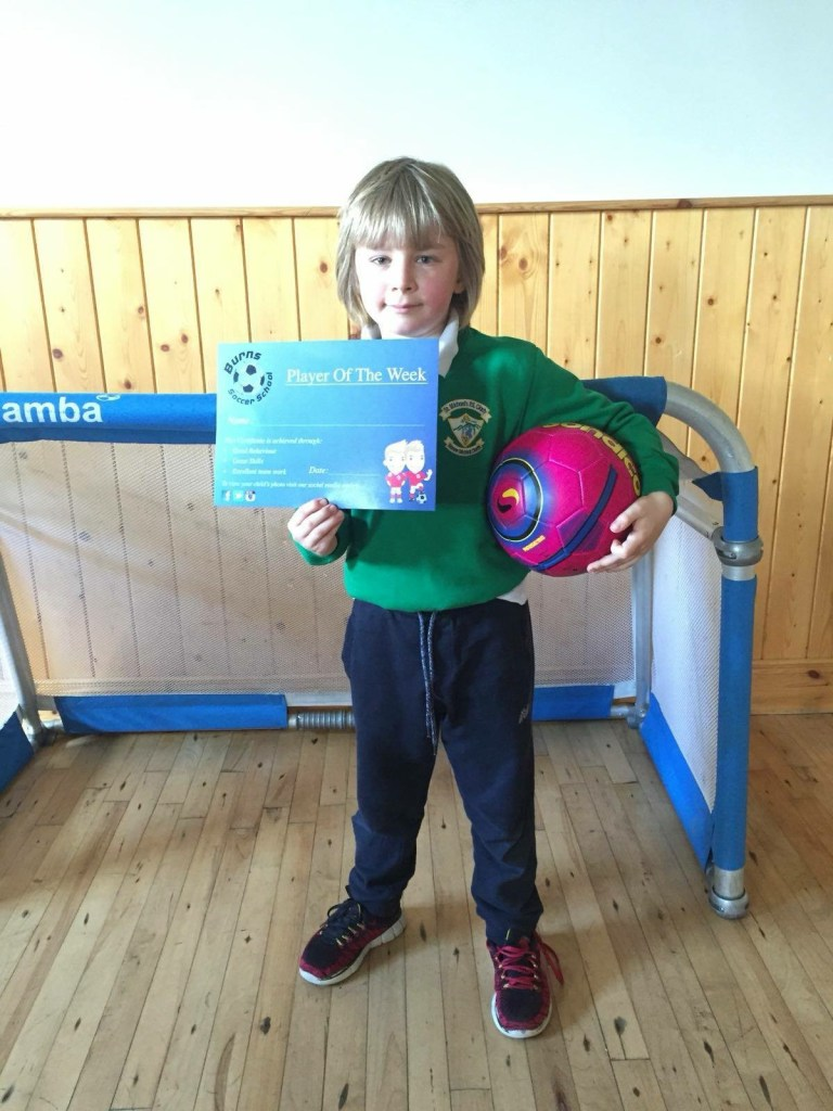 Burns Skills School, Players of the Week - 1st May