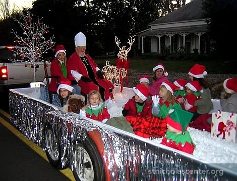 Entering A Church Sponsored Float In Local Christmas Parade Is Good Publicity For And Also Increases Public Awareness Of The True Saint Nicholas