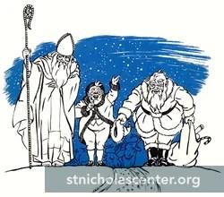de-evolution of St. Nicholas