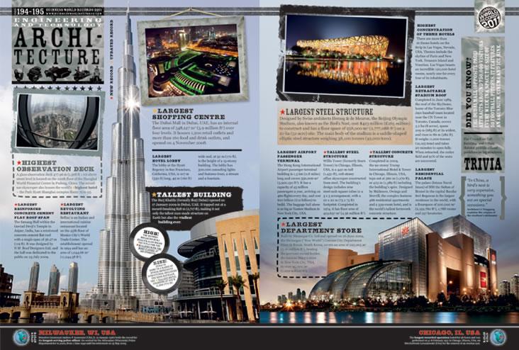 Book design for Guinness World Records