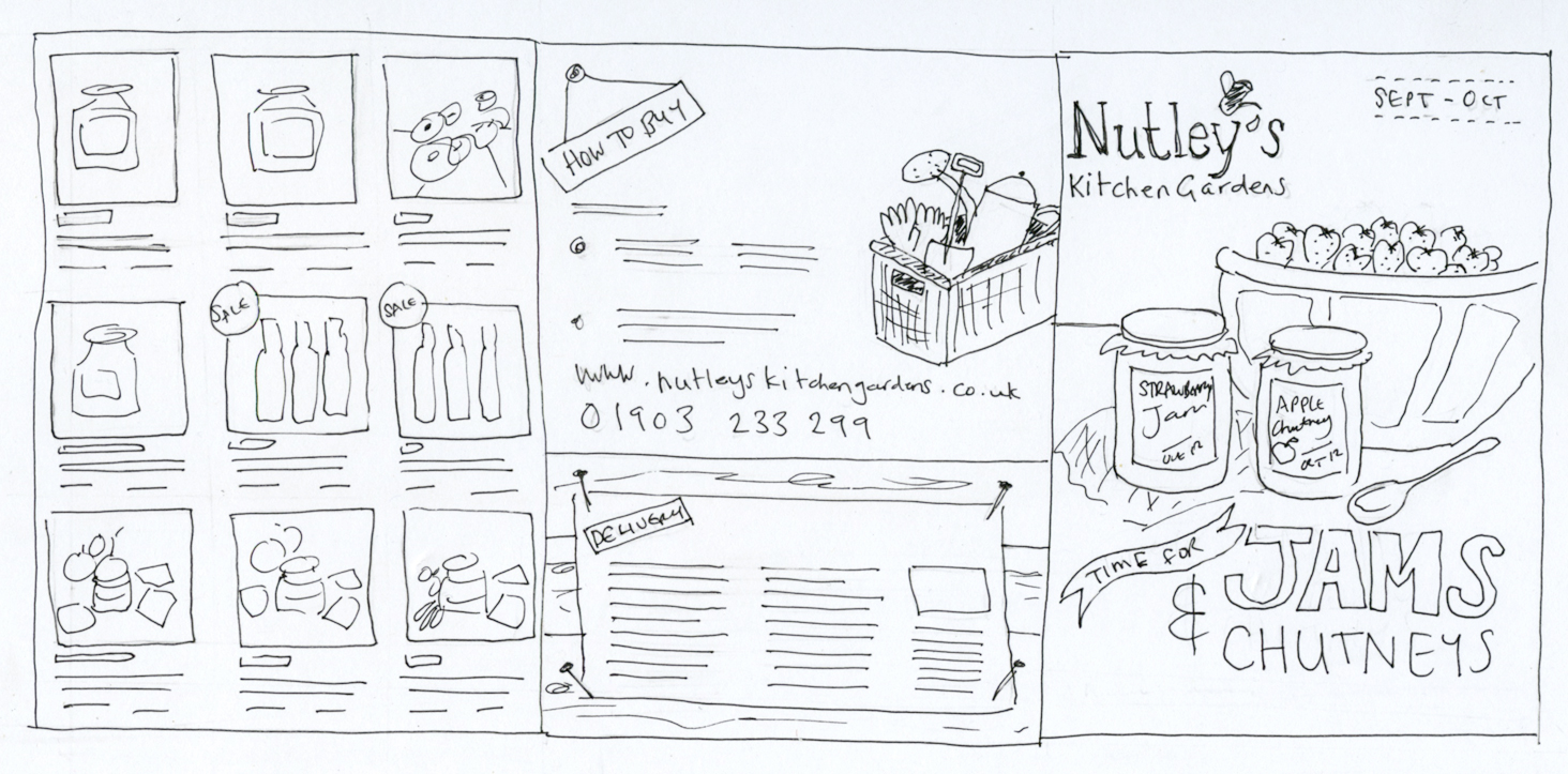 Graphic design for Nutleys