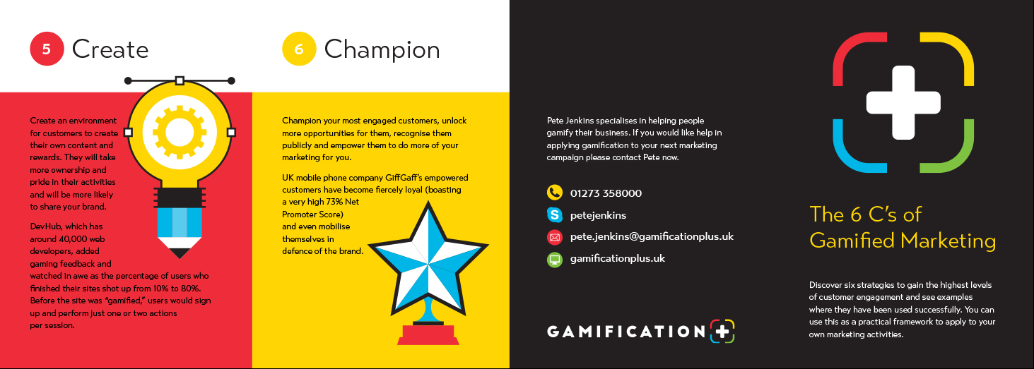 Graphic design for Gamification