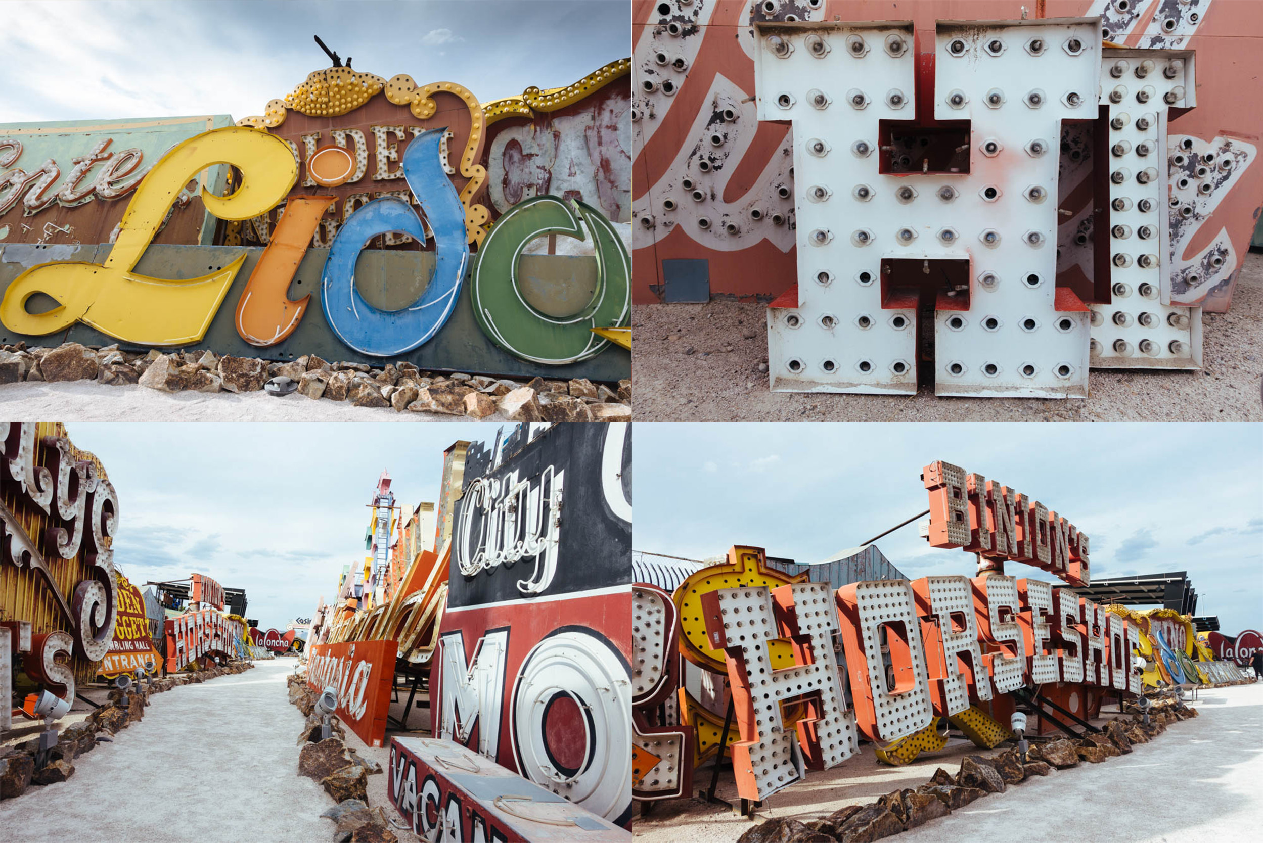 Old signs in Neon Boneyard
